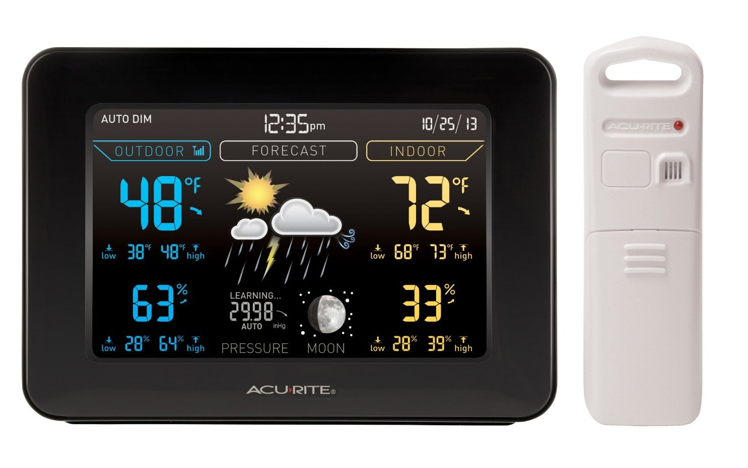 The Best Indoor Outdoor Thermometers for 2016: Our Reviews and Ratings #069BC5