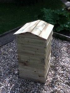 Bee Hive Compost Bin