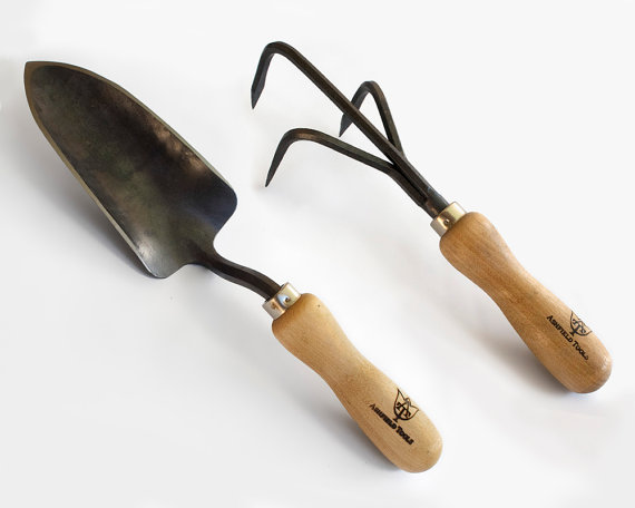 Garden Trowel and Cultivator