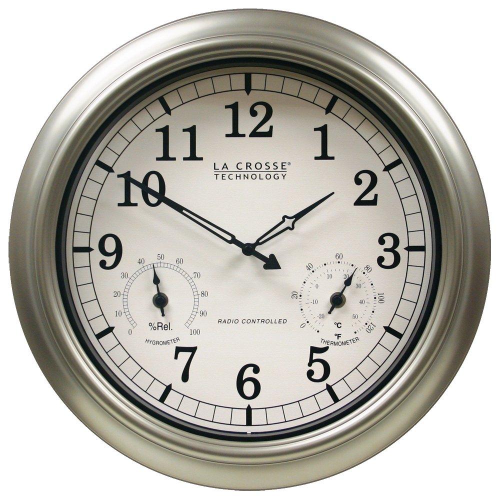 La Crosse Atomic Outdoor Clock