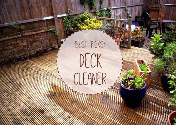 Best Decking Cleaner