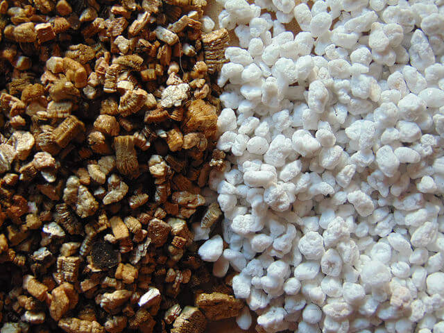 Vermiculite and perlite