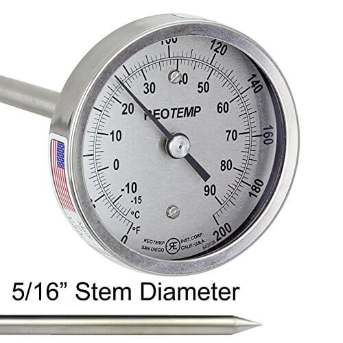 REOTemp Industrial Thermometer