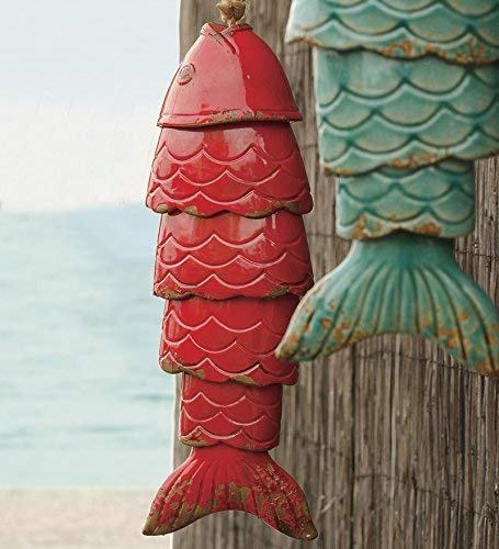 Ceramic Fish Chimes
