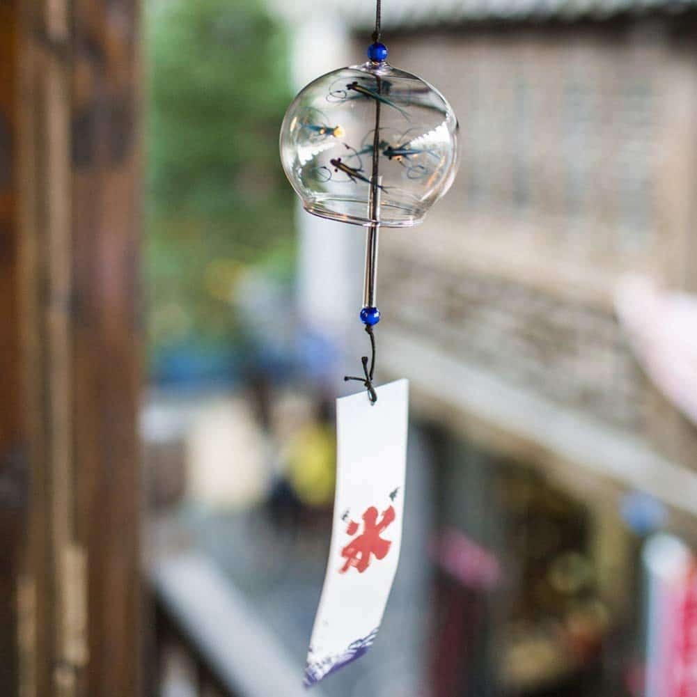 "Japanese ""Furin"" Wind Bell"